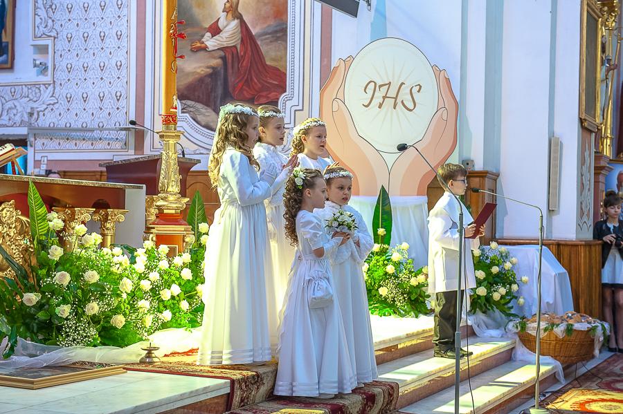 Komunia 2014 -Parafia Św Bartłomieja