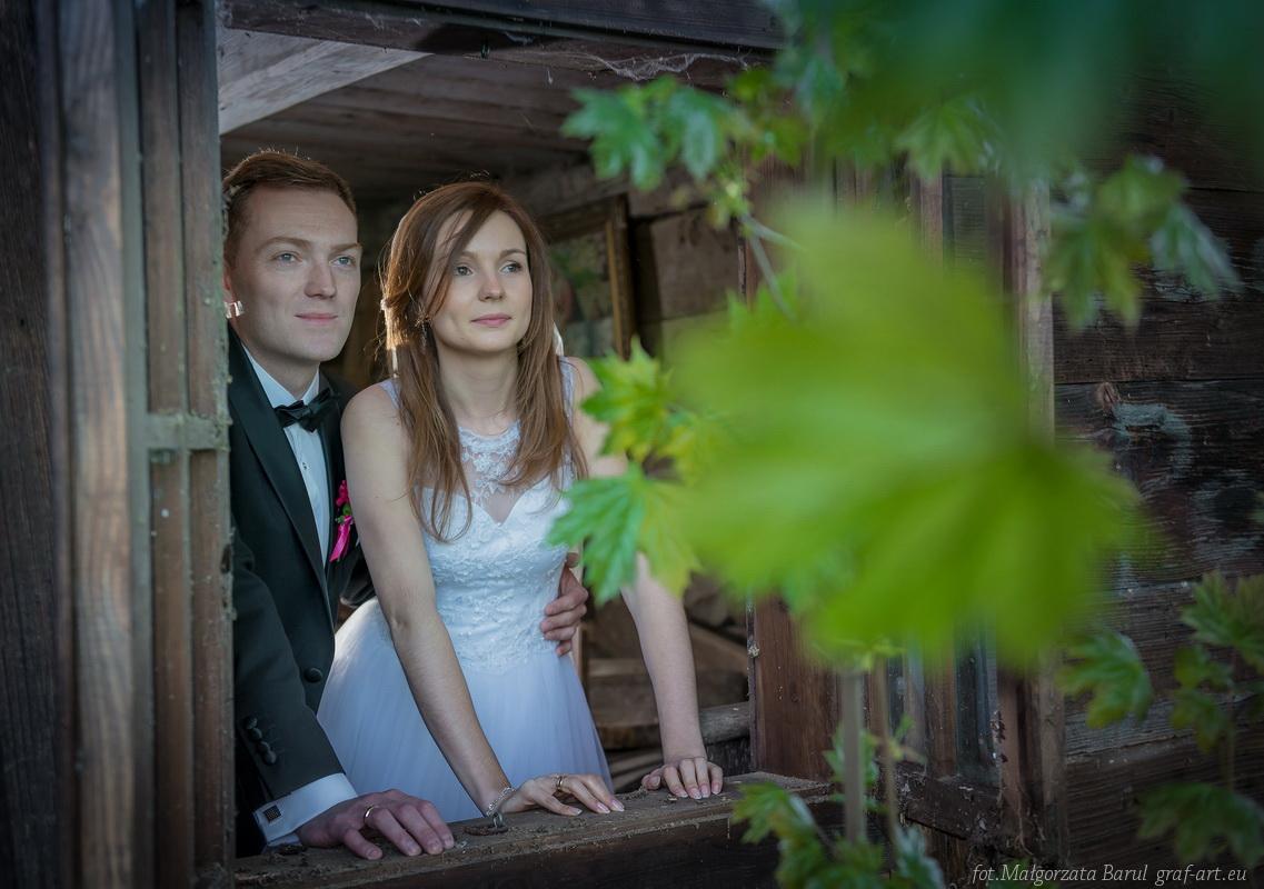 Marta i Wiktor - plener w Młyńczysku