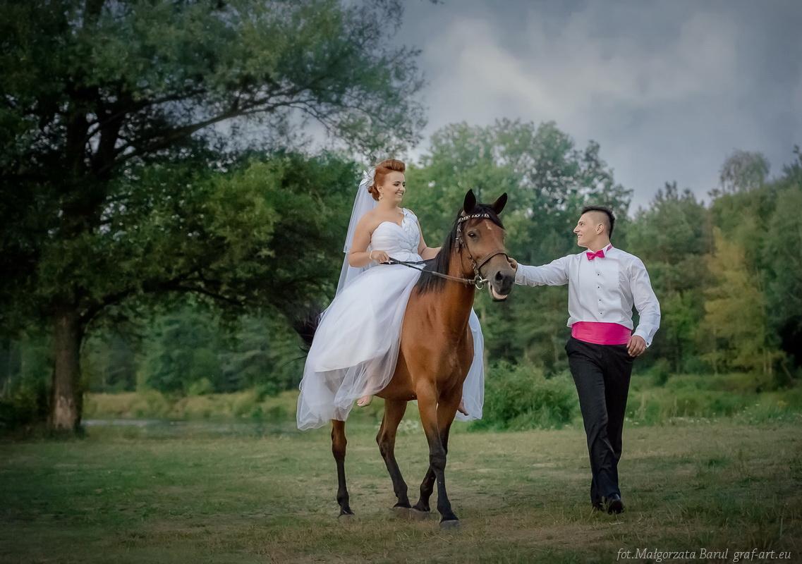 Alicja i Mariusz -wytworny ślub w Paradyżu