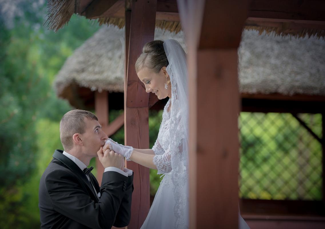 Patrycja i Rafał - sesja plenerowa w Mroczkowie Gościnnym